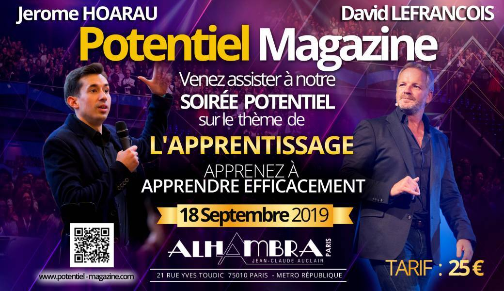 soiree potentiel magazine septembre